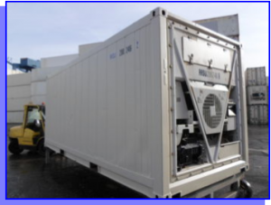 vente de container ISO Frigo